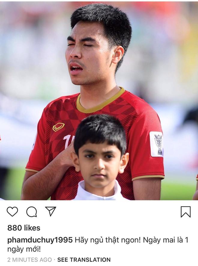 Lúc 23h, các fan phần nào yên tâm khi Đức Huy đã đăng ảnh lên Instagram.