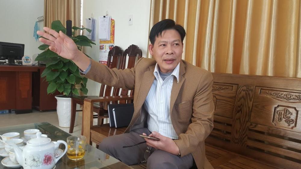"""Chủ tịch UBND xã Thái Thịnh Bùi Văn Phú: """"Bị cắt nước, sinh hoạt của cả xã bị đảo lộn"""""""