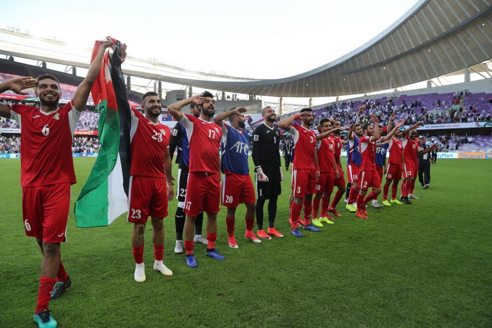 ĐT Jordan Asian Cup 2019. Ảnh: AFC.