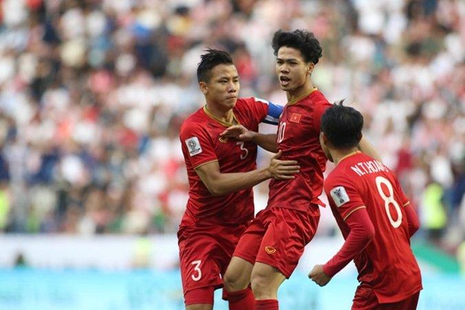 Tuyển Việt Nam hoàn toàn lấn lướt Jordan sau 90 phút thi đấu.
