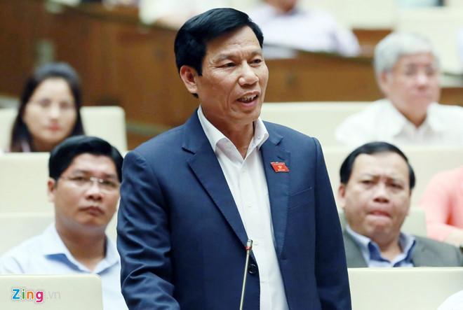 Bộ trưởng Nguyễn Ngọc Thiện. Ảnh: Ngọc Duy.