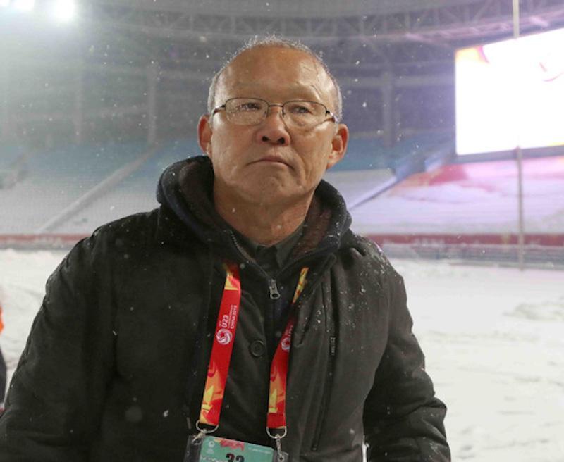 HLV Park Hang-seo, người thầy, người cha, người truyền cảm hứng cho các cầu thủ Việt Nam