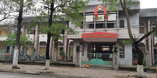 Tòa án Nhân dân thành phố Thái Bình, nơi xét xử sơ thẩm các bị cáo