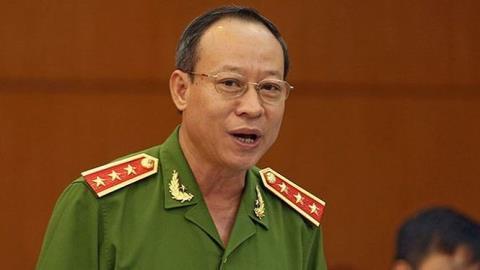 Thứ trưởng Bộ Công an Lê Quý Vương. Ảnh: Dân Việt