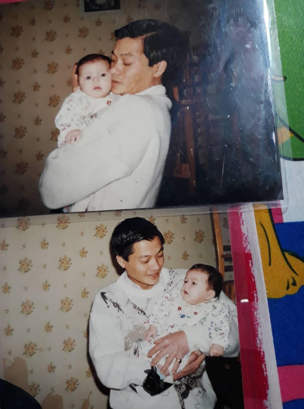 Bức ảnh thứ 2 Lys có, sau 25 năm chưa từng ở cạnh cha mình. Ảnh: Bà Rịa Youth