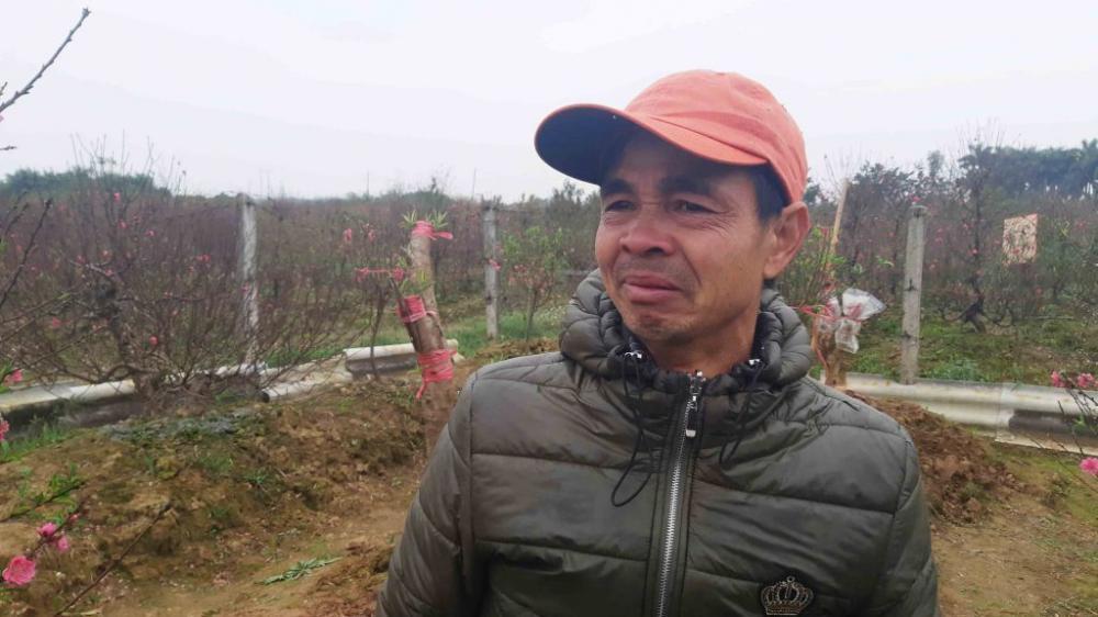 Anh Nguyễn Văn Hào bức xúc chia sẻ với phóng viên