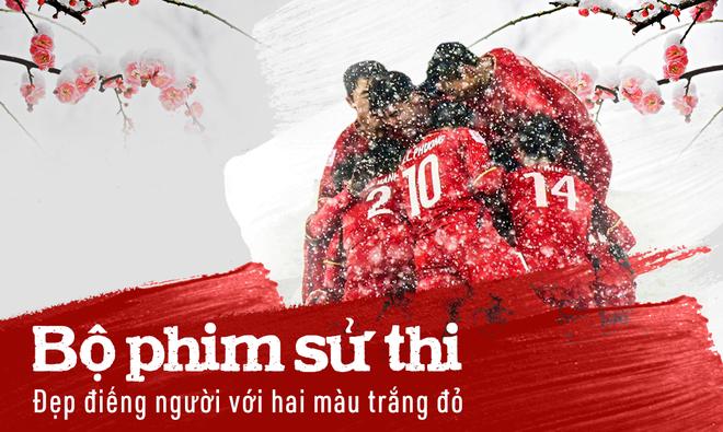 Phần thể hiện quả cảm của U23 Việt Nam tại vòng chung kết U23 châu Á tiếp tục khiến khán giả xúc động.