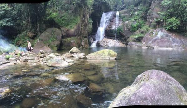 Trong quá trình chụp ảnh, T. bị trượt chân rơi xuống thác nước, t.ử v.ong (ảnh minh họa).