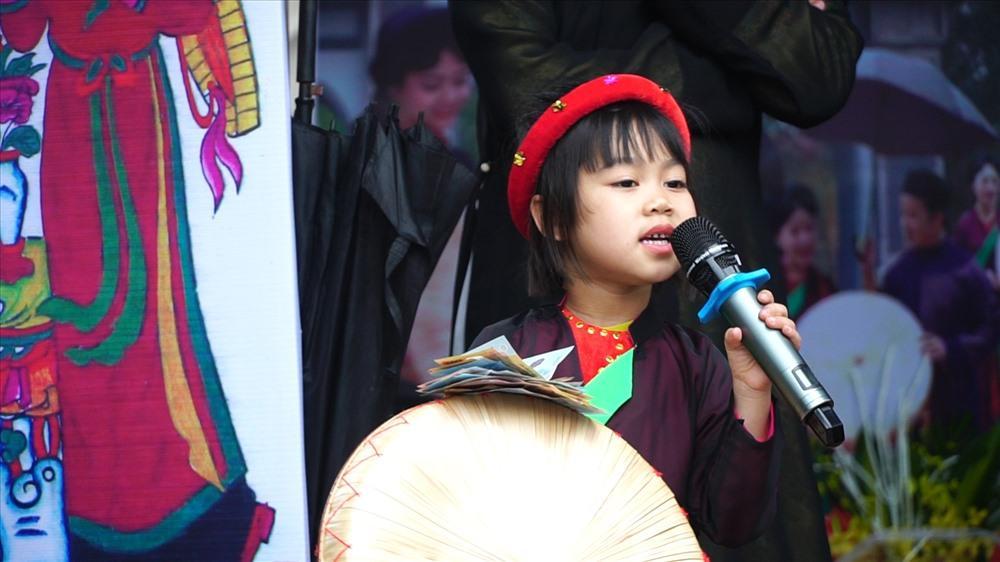 Bé Nguyễn Thị Vy An (5 tuổi).