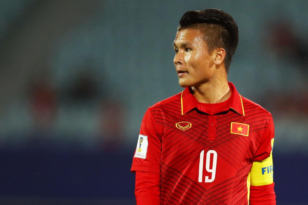 Quang Hải từng là đội trưởng của U20 Việt Nam dự World Cup U20 2017. Ảnh: Getty