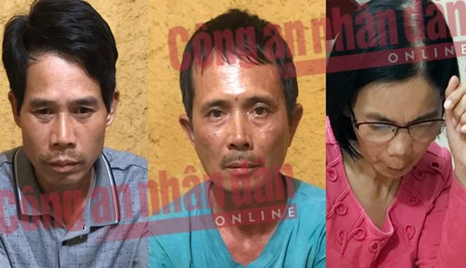 3 nghi phạm mới bị bắt (Ảnh: CAND)