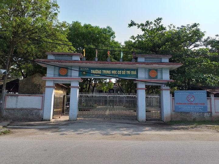 Trường THCS Trí Quả, xã Trí Quả, huyện Thuận Thành (Bắc Ninh).