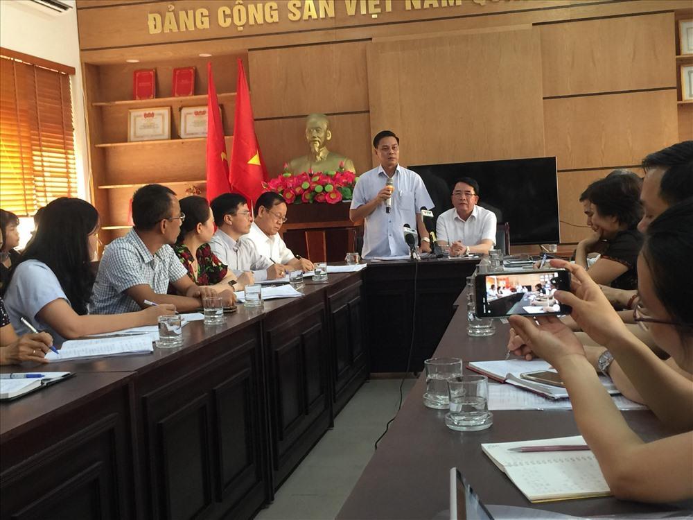 Chủ tịch UBND TP Hải Phòng chủ trì cuộc làm việc với Trường Tiểu học Quán Toan