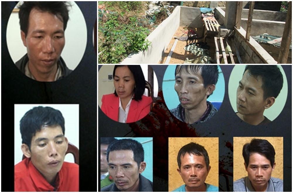 Các đối tượng trong vụ án và hiện trường nơi phát hiện th i th ể nữ sinh Cao Mỹ Duyên.