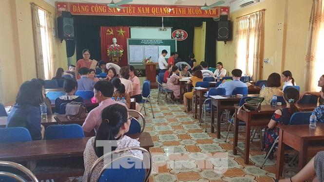 Giáo viên chấm thi tại Nam Định được lựa chọn, giám sát kỹ càng - Ảnh: Hoàng Long