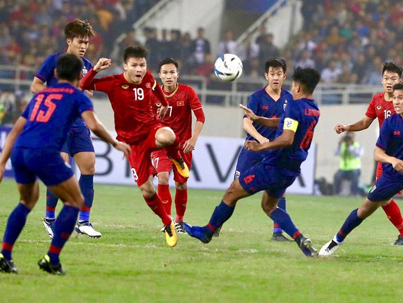 Tuyển Việt Nam có thể chung bảng với Thái Lan