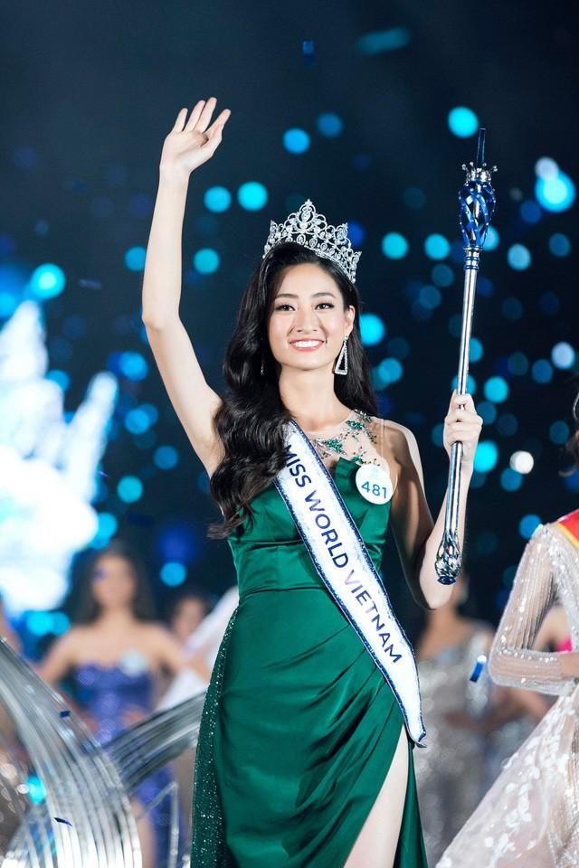 Tân Hoa hậu Thế giới Việt Nam Lương Thùy Linh.