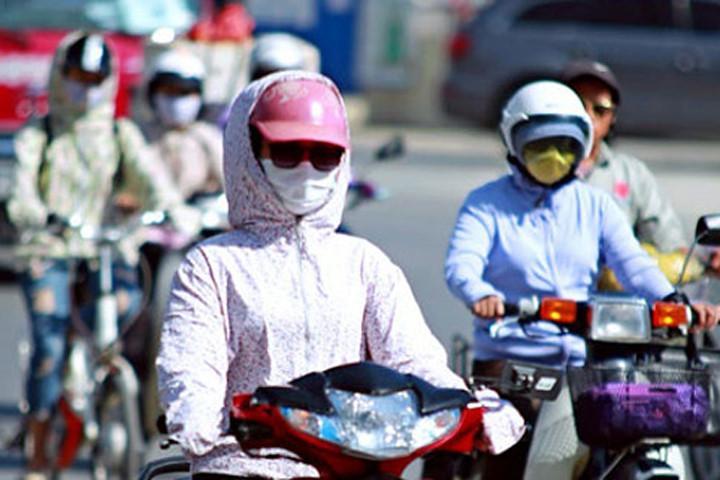 Từ ngày 1/6, khu vực Bắc Bộ và các tỉnh từ Thanh Hóa đến Phú Yên có nơi nắng nóng hơn 40 độ C.