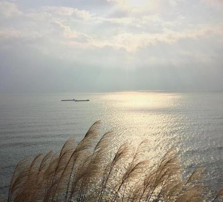 Đây cũng là một địa điểm lý tưởng để bạn đón bình minh hay chiêm ngưỡng vẻ đẹp lãng mạn khi hoàng hôn buông xuống, nhắm mắt vào hít hơi thật sâu bạn cảm nhận thấy vị mằn mặn của biển sự bình yên bao quanh. Ảnh: thanhhiep1991
