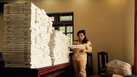 Gần 6000 bao thuốc lá lậu bị cơ quan chức năng bắt giữ