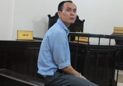 Lê Hồng Quang tại phiên tòa