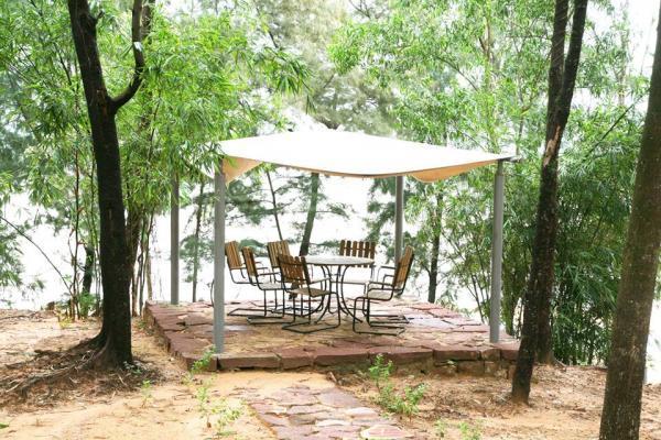 Với không gian thiên nhiên xanh mát, Nghi Sơn Eco Islanf đã thu hút được nhiều du khách ghé thăm. (Nguồn: We25)
