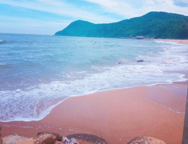 Thiên đường là có thật, không đâu xa mà ở ngay Bãi Đông - Thanh Hóa. (Nguồn: thulily22)