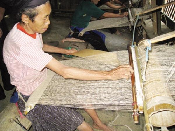 Nghề dệt sợi gai ở Thanh Hóa đã tồn tại từ lâu đời (Nguồn: vivuthanhhoa.com)
