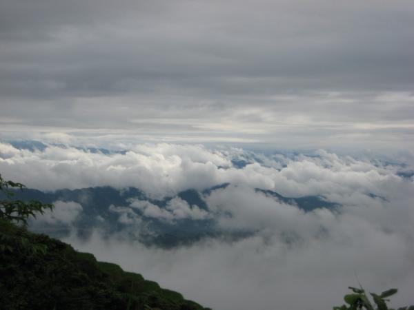 Mây trời mờ ảo ở thiên đường Cao Sơn. (Nguồn: Jackson Nguyen)