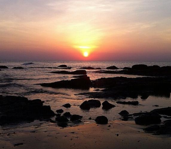 Bình minh trên biển Hải Thanh. (Nguồn: @visitvietnam)