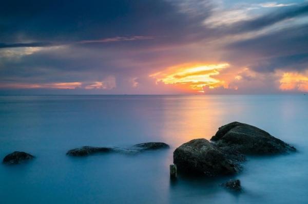 Ngỡ ngàng với vẻ đẹp ảo diệu của bãi biển Sầm Sơn đẹp nhất xứ Thanh. (Nguồn: Le Quang)