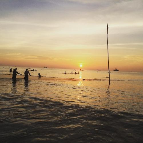 Mặt trời lên trên biển xứ Thanh. (Nguồn: bigv.i.p)