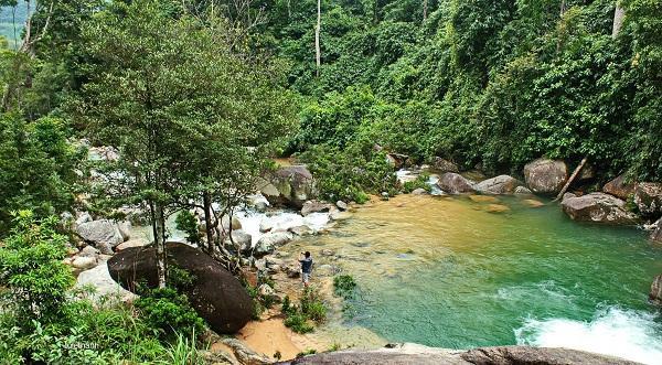 Quang cảnh xung quanh thác Ma Hao. (Nguồn: foody.vn)