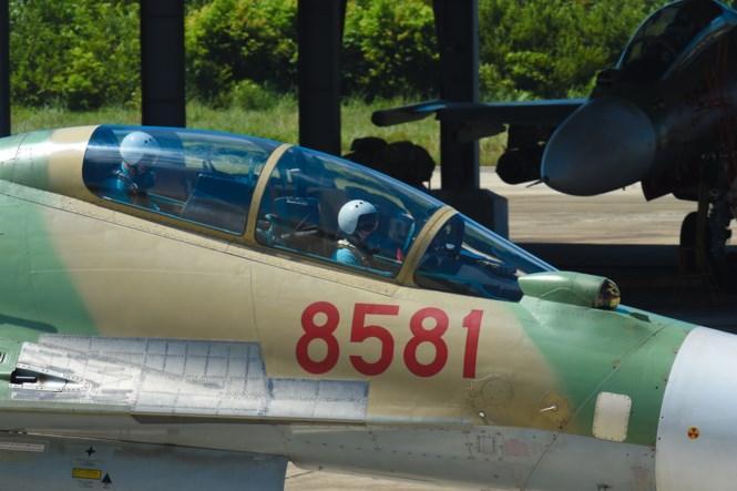 Nhiều phi công lão luyện đã tham gia hội thao