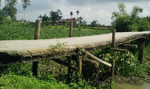 Cầu Hợp Giang xuống cấp nghiêm trọng, tiềm ẩn nhiều nguy cơ tai nạn
