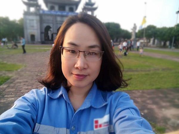 Chị Thanh Huyền hiện đang nấu bếp chính tại một công ty xi măng ở Bỉm Sơn, Thanh Hóa.