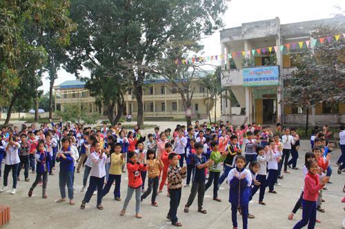 Trường tiểu học Ba Đình, thị xã Bỉm Sơn (Thanh Hóa)