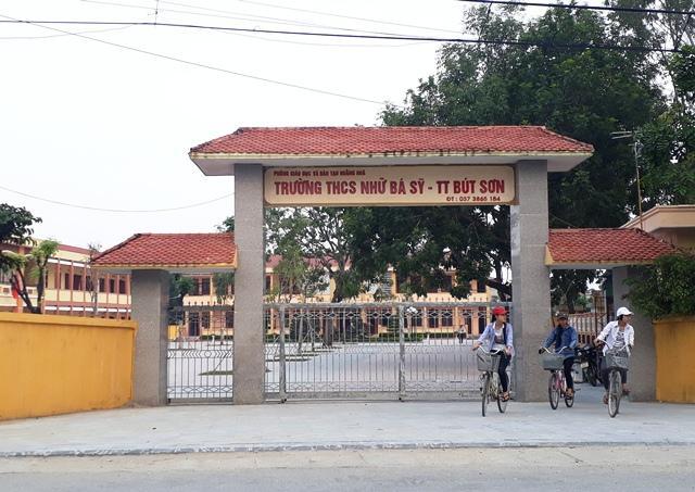 Trường THCS Nhữ Bá Sỹ