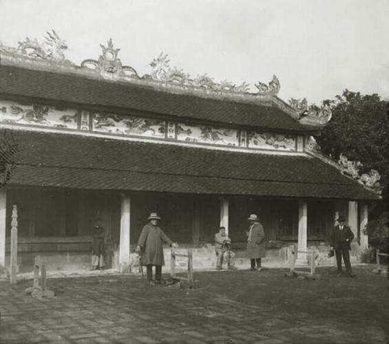 Nguyên miếu (miếu Triệu Tường), nơi thờ tổ tiên nhà Nguyễn ở Gia Miêu Ngoại Trang. Ảnh tư liệu.