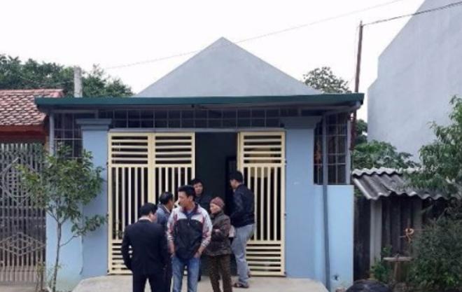 Ngôi nhà nơi xảy ra vụ bắt cóc.