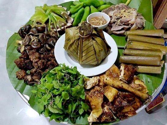 Nhiều món ăn đậm đà bản sắc dân tộc Thái ở huyện Lang Chánh