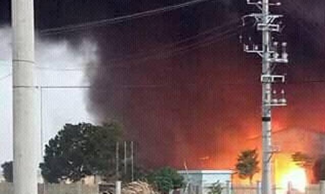 Vụ cháy làm 6 người thương vong và thiệt hại hàng chục tỉ đồng. (Ảnh: Anh Thắng)