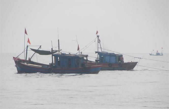 Ghi nhận đến 20h ngày 9/1 có 8 thuyền viên trên 3 tàu bị chìm đang mất tích (Ảnh minh họa)