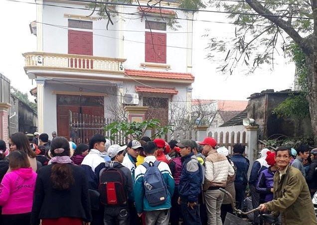 Căn nhà nơi xảy ra vụ án. Ảnh: Nguyễn Dương.