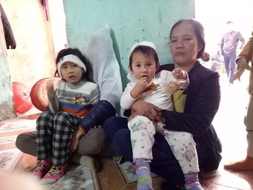 3 người phụ nữ trong gia đình nhà chị Thêu, bà Thực bỗng trở thành góa bụa cùng những đứa con nheo nhóc.