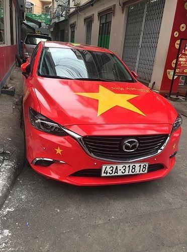 Chiếc Mazda tuyệt đẹp ở Đà Nẵng