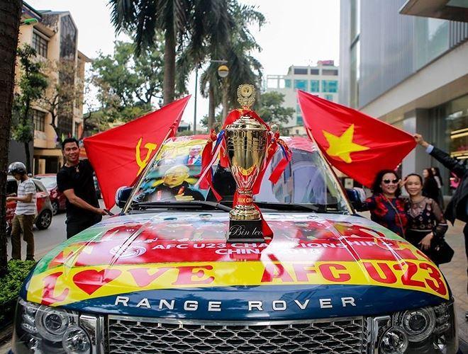 Chiếc Range Rover được trang hoàng cầu kỳ
