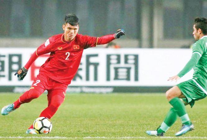"""Dù chỉ là """"người thay thế"""" nhưng Phạm Xuân Mạnh đã có màn trình diễn ấn tượng tại U23 châu Á vừa qua. Ảnh: AFC."""
