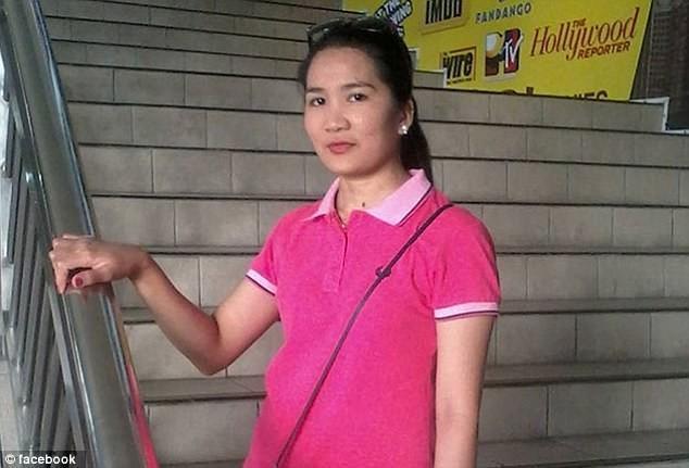 Thi thể của cô gái đã được tìm thấy trong trạng thái đông cứng ở tủ đông của căn nhà nơi cô làm việc