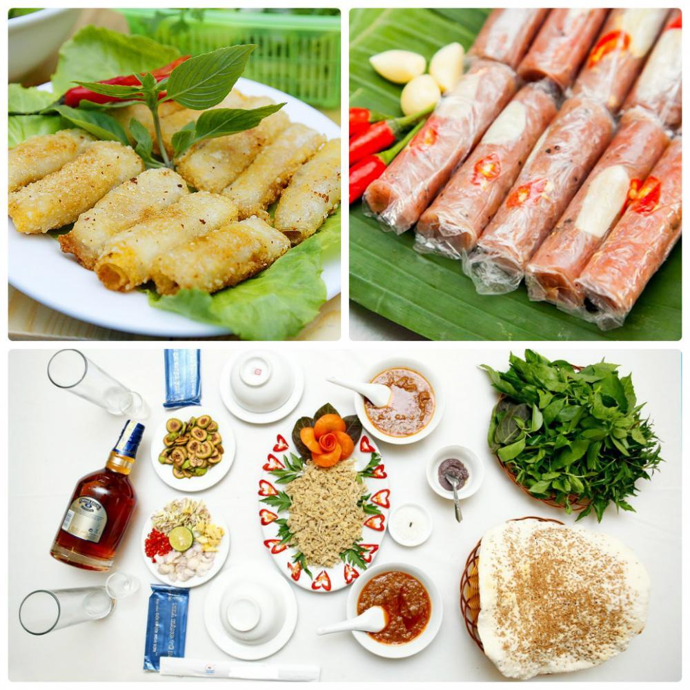 Những món ăn ngon, hấp dẫn không thể bỏ qua khi đến với Thanh Hóa. (Ảnh: Sưu tấm)